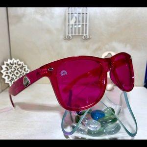 fba3041d4938 Rainbow Optx Accessories - Magenta colored Sunglasses